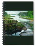 Little River Gloucester Study Spiral Notebook