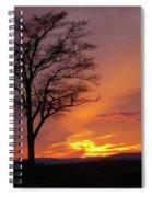Little Round Top Sunset Spiral Notebook