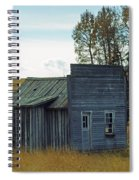 Little Rustic Shack Spiral Notebook