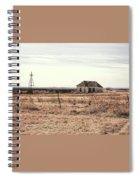 Little Shack On The Prairie Spiral Notebook