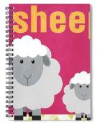 Little Sheep Spiral Notebook