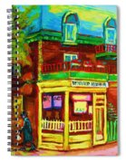 Little Shop On The Corner Spiral Notebook
