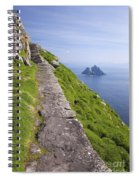 Little Skellig Island, From Skellig Michael, County Kerry Ireland Spiral Notebook