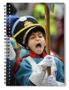 Little Soldier V Spiral Notebook