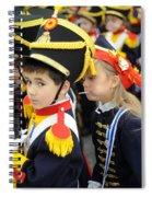 Little Soldiers II Spiral Notebook