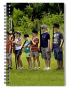 Little Soldiers Spiral Notebook