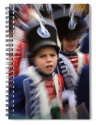 Little Soldiers Vii Spiral Notebook