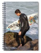 Little Surfer Dude Spiral Notebook