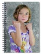 Little Tomboy  Spiral Notebook