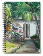 Little West Indian House 2...sold Spiral Notebook
