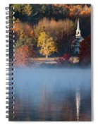 Little White Church On Crystal Lake Spiral Notebook