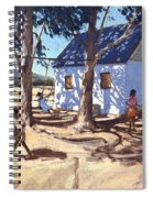 Little White House Karoo South Africa Spiral Notebook