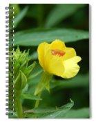 Little Yellow Flower Spiral Notebook