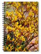 Little Yellow Flowers Spiral Notebook