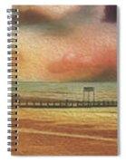 Littlehampton Beach Spiral Notebook