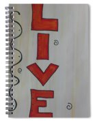 Live Acrylic Watercolor Spiral Notebook
