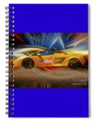 Live Freely Lp550-2 Lamborghini Spiral Notebook