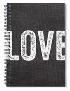 Live Love Bake Spiral Notebook