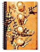 Live Rock Show Spiral Notebook