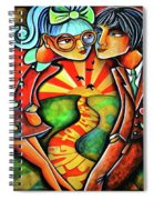 Live To Love Spiral Notebook