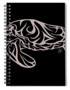 Live Waters Spiral Notebook