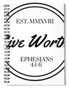 Live Worthy Spiral Notebook