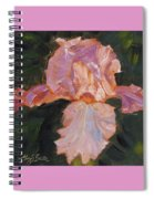 Lively Iris Spiral Notebook