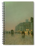 Liverpool Docks From Wapping Spiral Notebook