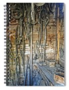 Livery Stable Work Bench - Virginia City Montana Spiral Notebook