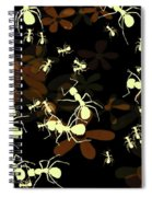 Lives Of Ants Spiral Notebook