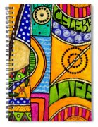 Living A Vibrant Life Spiral Notebook