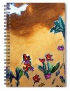 Living Earth Spiral Notebook