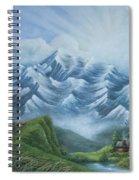 Living High Spiral Notebook