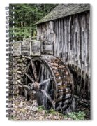 Cable Mill Gristmill - Great Smoky Mountains National Park Spiral Notebook