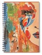 Living In Color Spiral Notebook