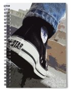 Living In Converse - Hurries In Converse Spiral Notebook