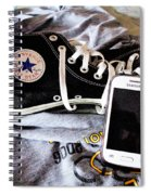 Living In Converse Resting Time  Spiral Notebook