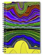 Living In Wyoming Spiral Notebook