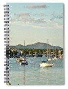 Living Near The Coast Spiral Notebook