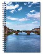 Living Next To The Arno River Spiral Notebook