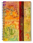 Living On Both Sides Of The Fence Spiral Notebook