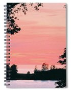 Living Room View, Photograph Spiral Notebook