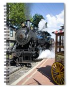 Living Steam Spiral Notebook