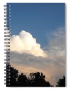 Living Under Protection Spiral Notebook