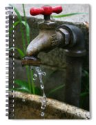 Living Water Spiral Notebook