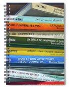 Livres ... Spiral Notebook