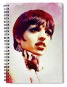 Liza Minnelli, Vintage Movie Star Spiral Notebook