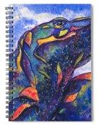 Lizard In The Desert 2 Spiral Notebook
