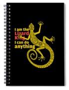 Lizard King Spiral Notebook