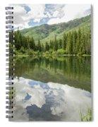 Lizard Lake Reflections Spiral Notebook